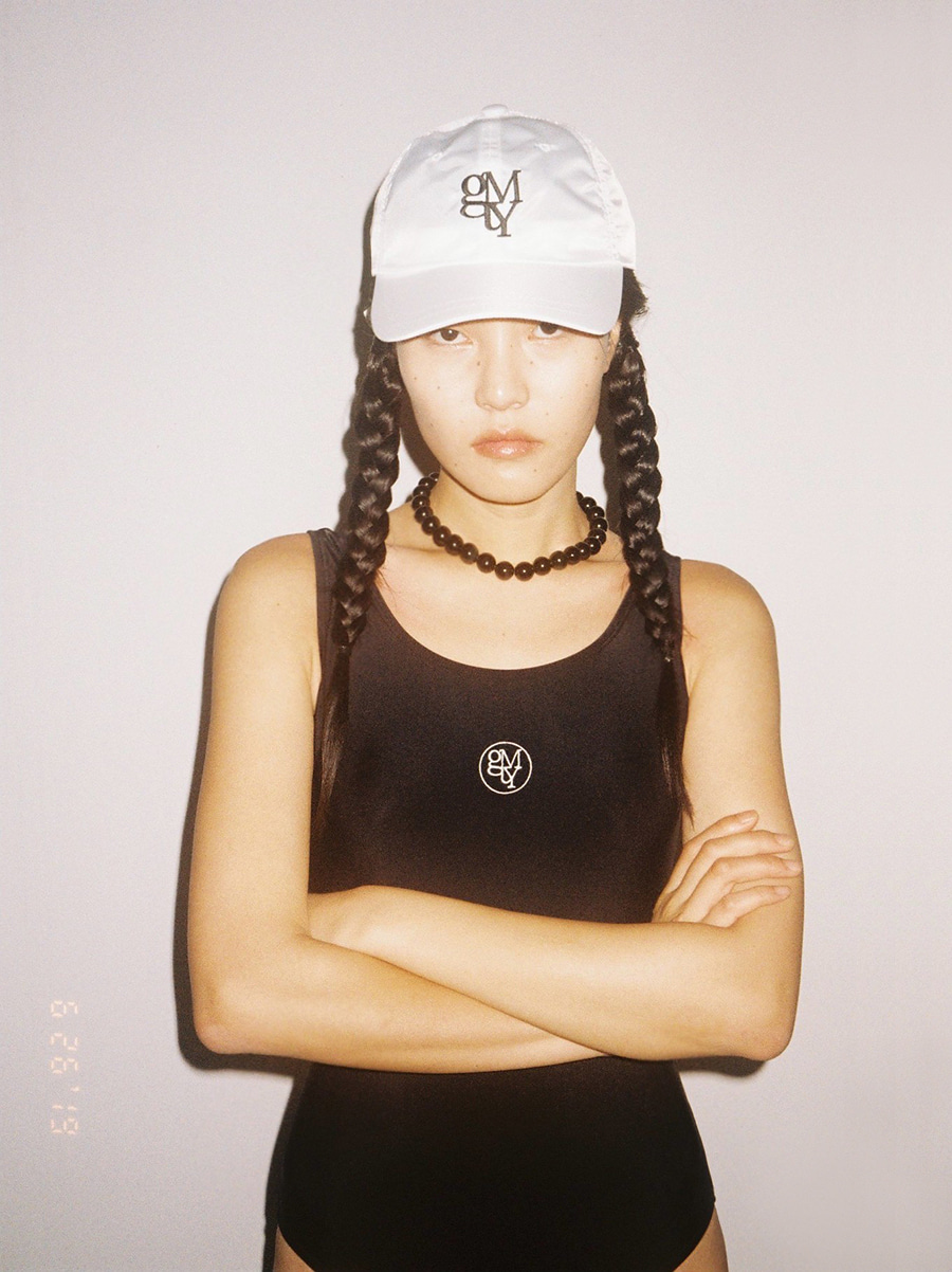 G_LOGO POINT BALLCAP / WHITE