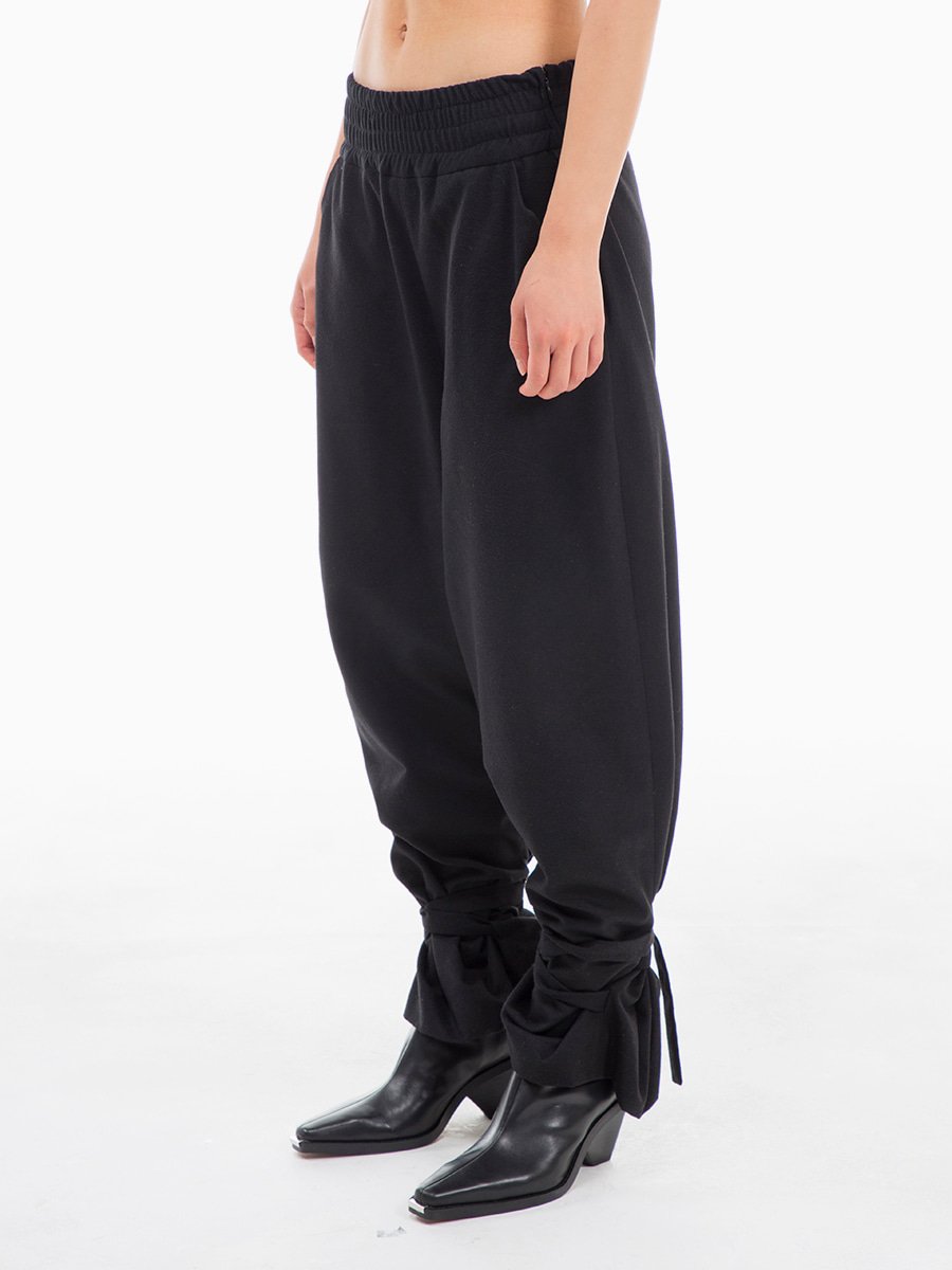 G_BANDING FORMAL PANTS / BLACK